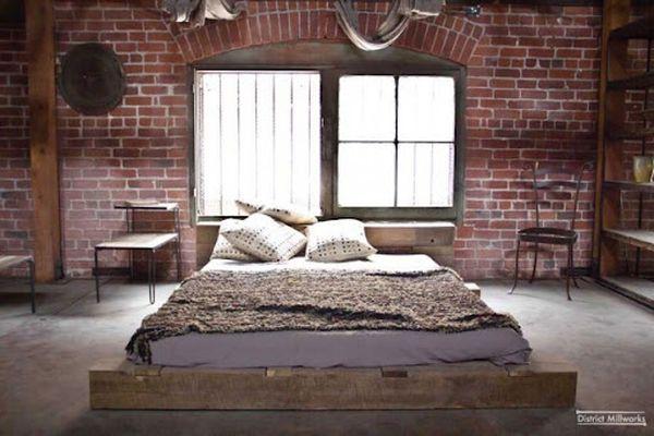 Trang trí phòng ngủ nhỏ không giường 08