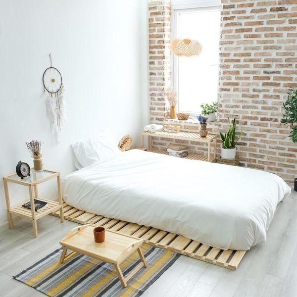 Trang trí phòng ngủ nhỏ không giường 15