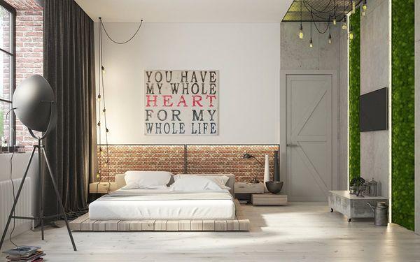 Lợi ích của trang trí phòng ngủ nhỏ không giường 20