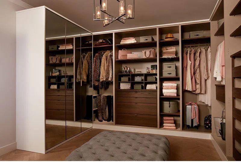 Tủ quần áo không cánh gỗ công nghiệp có đa dạng màu sắc, kiểu dáng và có mức giá rẻ hơn