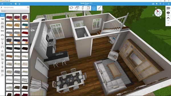 App thiết kế phòng ngủ Home Design 3D