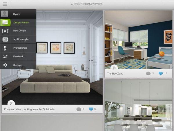 App thiết kế phòng ngủ trên điện thoại ngày càng hoàn thiện hơn về ý tưởng, phong cách thiết kế, đồ nội thất, màu sắc, chất liệu
