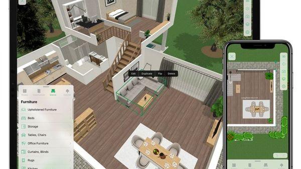App thiết kế nội thất Planner 5D
