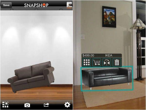 App thiết kế phòng ngủ Snapshop
