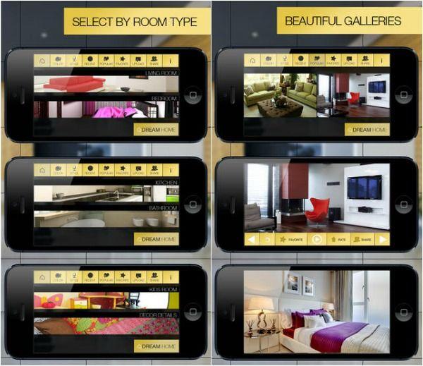 App thiết kế phòng ngủ Dream Home