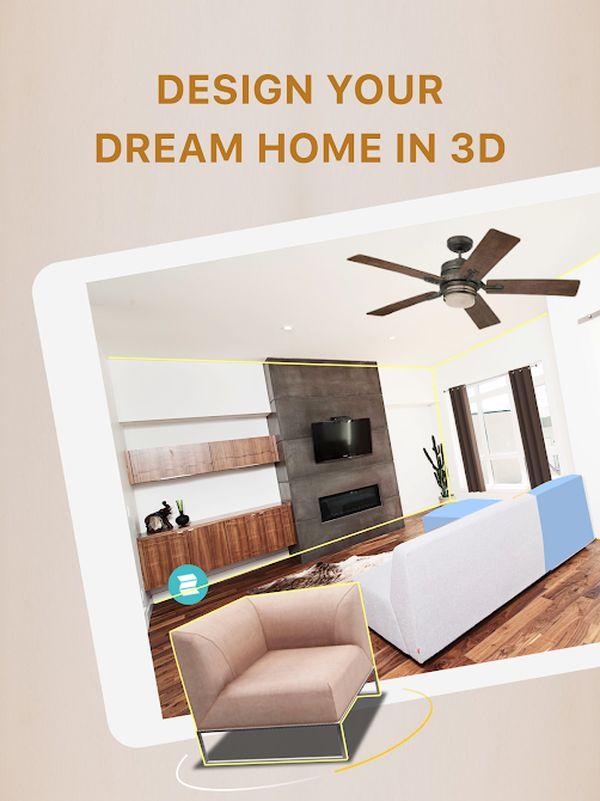 App thiết kế phòng ngủ Home Styler