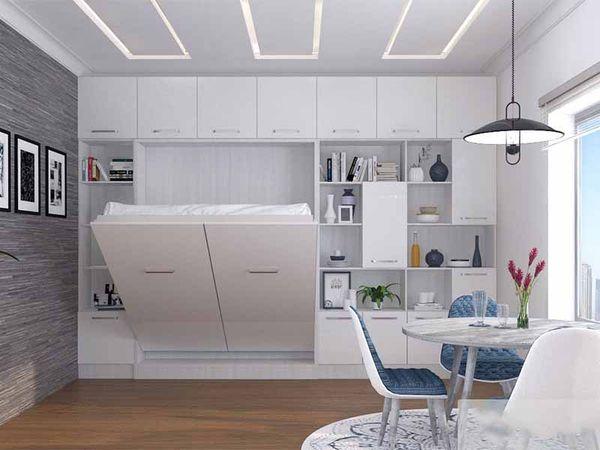 Cách bố trí phòng ngủ 12m2 bằng nội thất thông minh