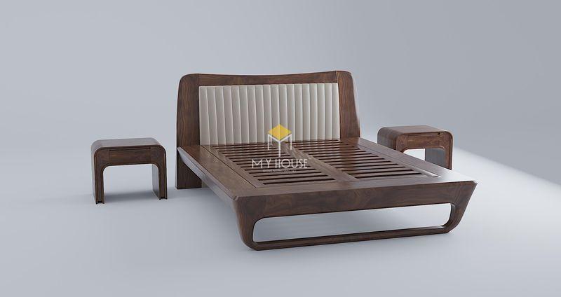 Công ty sản xuất nội thất - giường ngủ gỗ óc chó