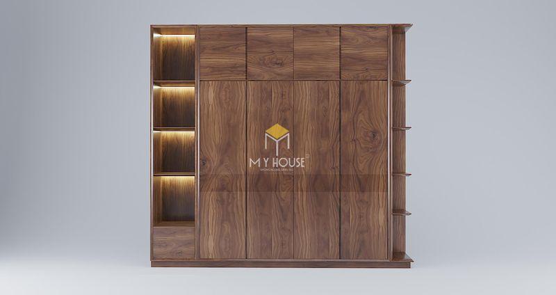 Công ty sản xuất nội thất - Tủ quần áo 4 cánh