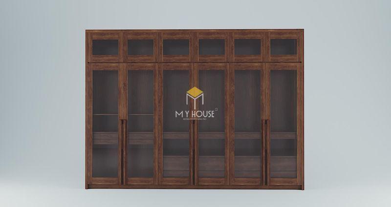 Công ty sản xuất nội thất - Tủ quần áo 6 cánh