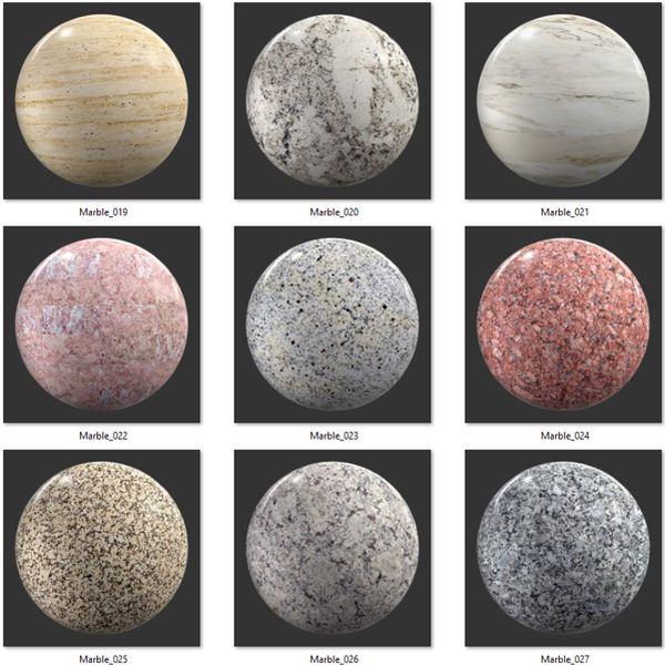 Bộ Map đá Marble 03