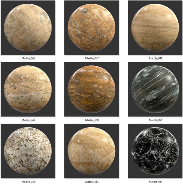 Bộ Map đá Marble 06