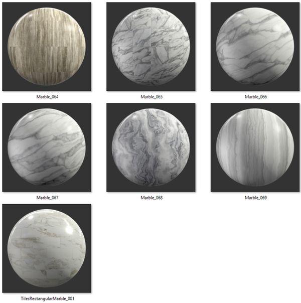 Bộ Map đá Marble 08