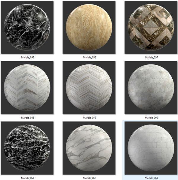 Bộ Map đá Marble 07