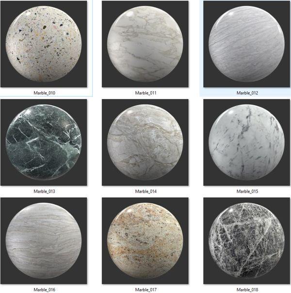 Bộ Map đá Marble 02