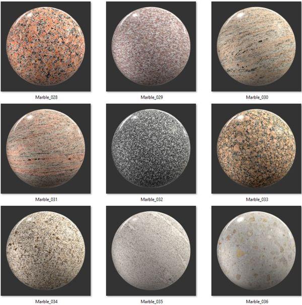 Bộ Map đá Marble 04