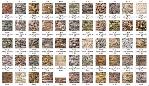 Các loại đá ốp tường phổ biến