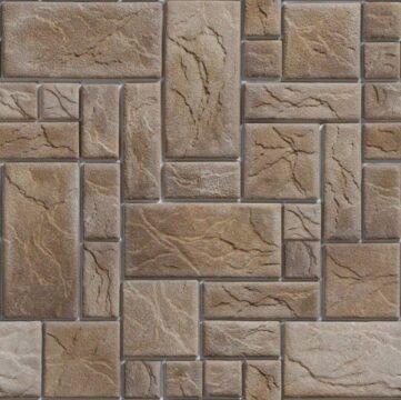 Map đá ốp tường 01