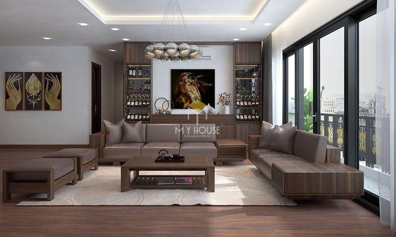 Trang trí nội thất phòng khách hợp phong thủy