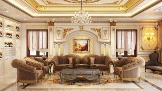 Phòng khách cổ điển 6