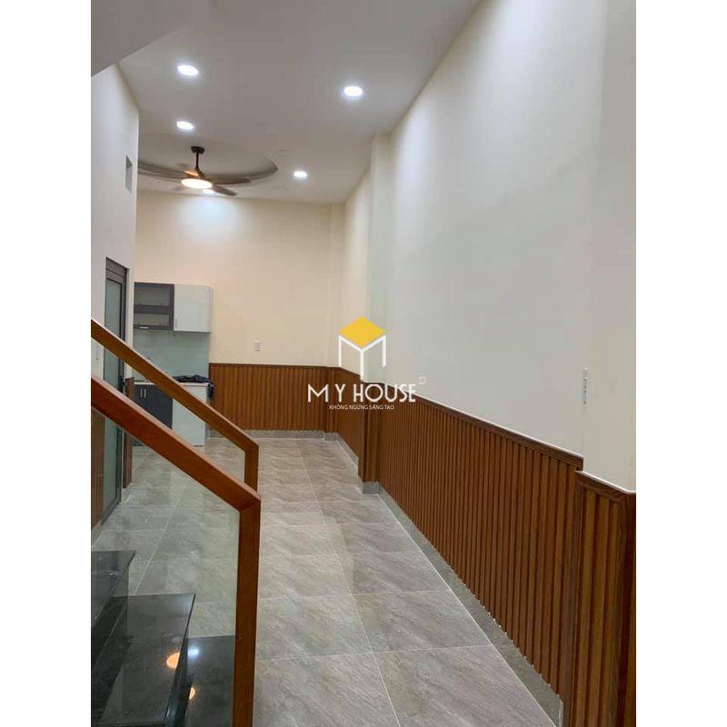 Ứng dụng của sàn gỗ công nghiệp - Ốp tường, lamri