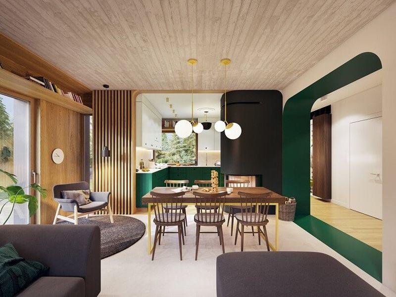 Mẫu thiết kế nội thất tại Quảng Ninh - Thiết kế liên thông