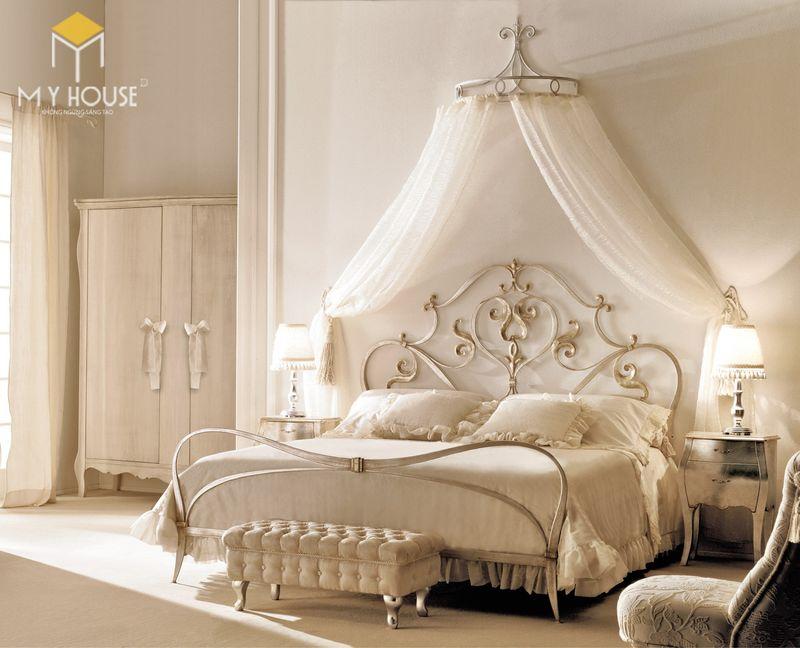 Mẫu giường ngủ đẹp cho nữ - Mẫu 24