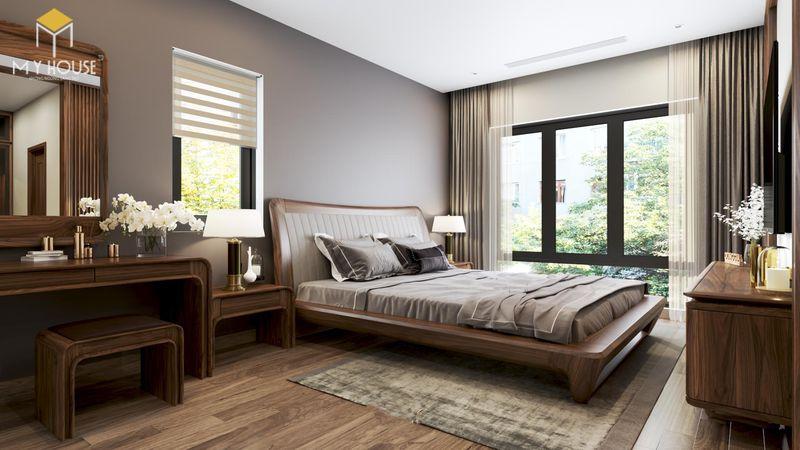 Mẫu giường ngủ đẹp cho nữ - Mẫu 01