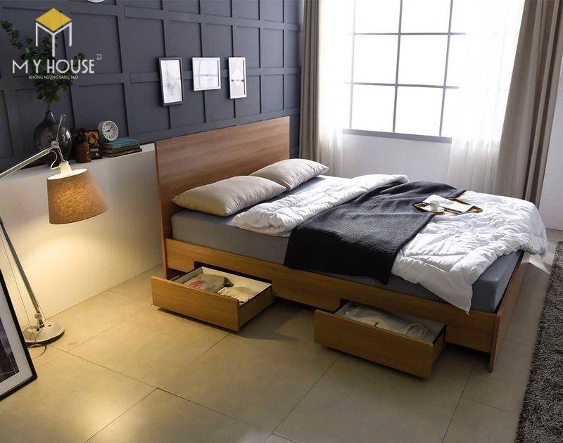 Mẫu giường ngủ đẹp cho nữ - Mẫu 13