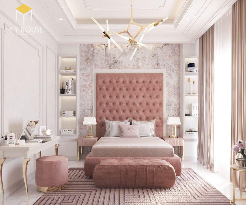 Mẫu giường ngủ đẹp cho nữ - Mẫu 27
