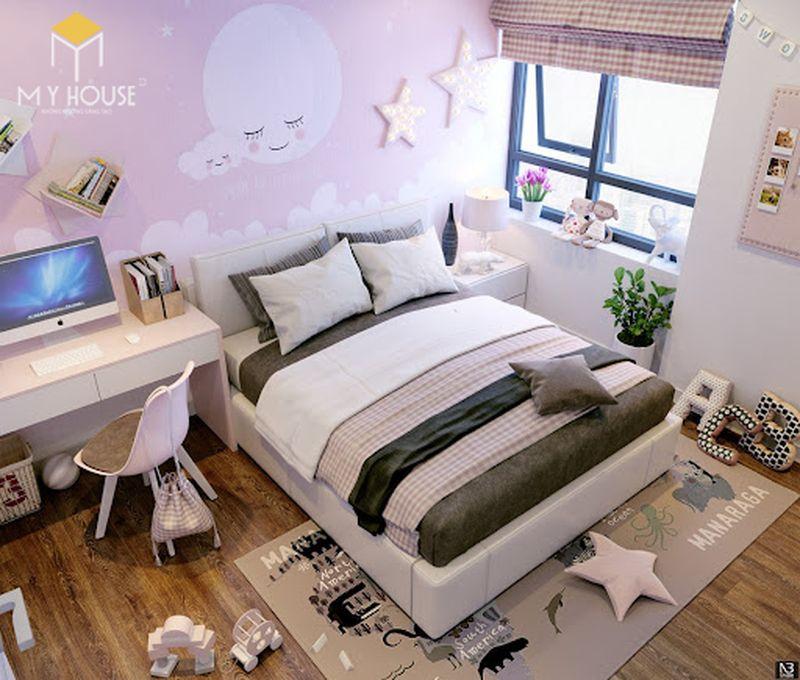 Mẫu giường ngủ đẹp cho nữ - Mẫu 25