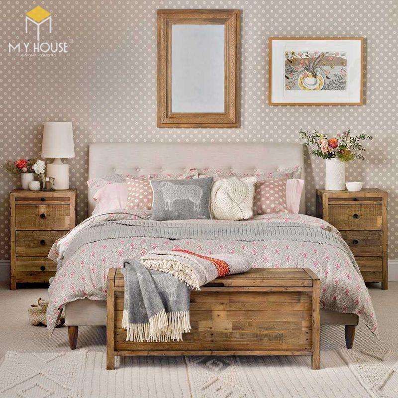 Mẫu giường ngủ đẹp cho nữ - Mẫu 16