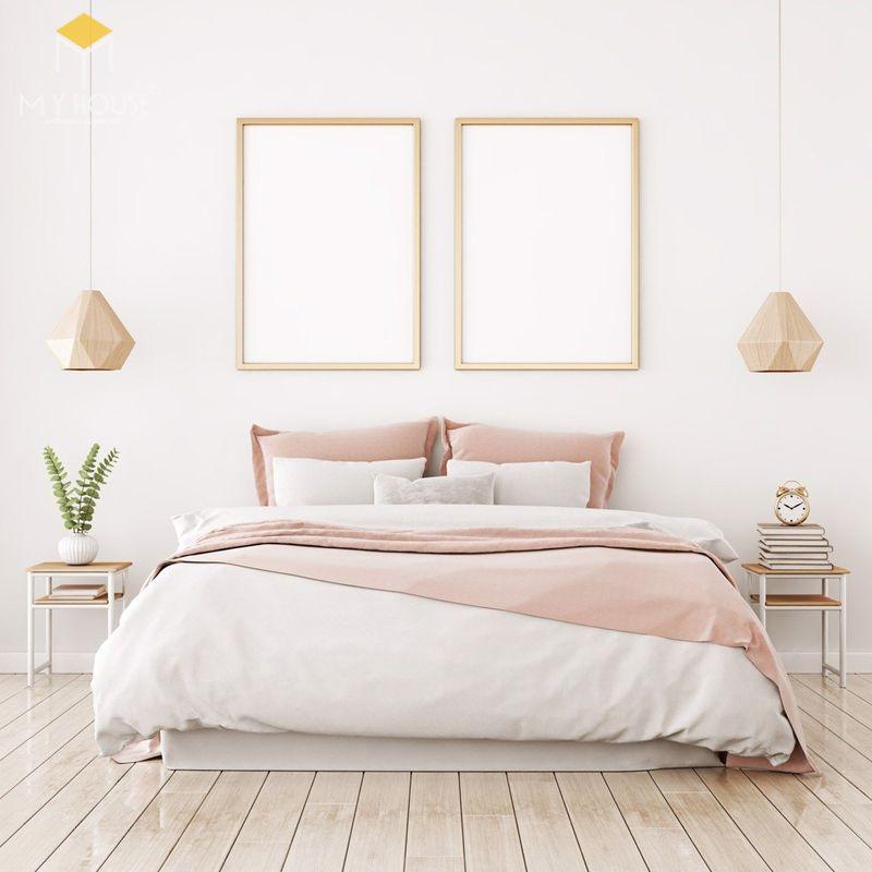 Mẫu giường ngủ đẹp cho nữ - Mẫu 17