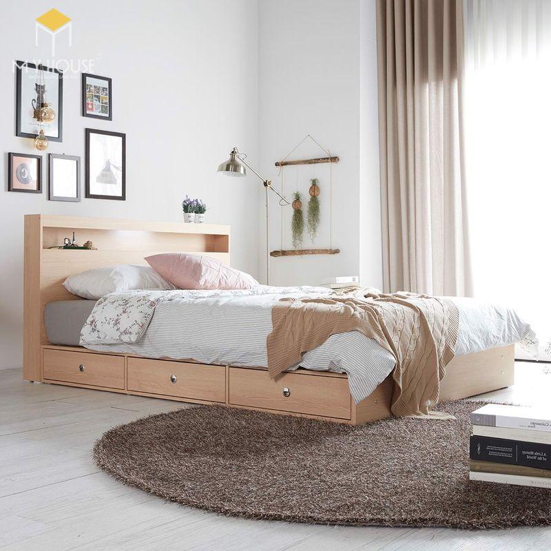 Mẫu giường ngủ đẹp cho nữ - Mẫu 18