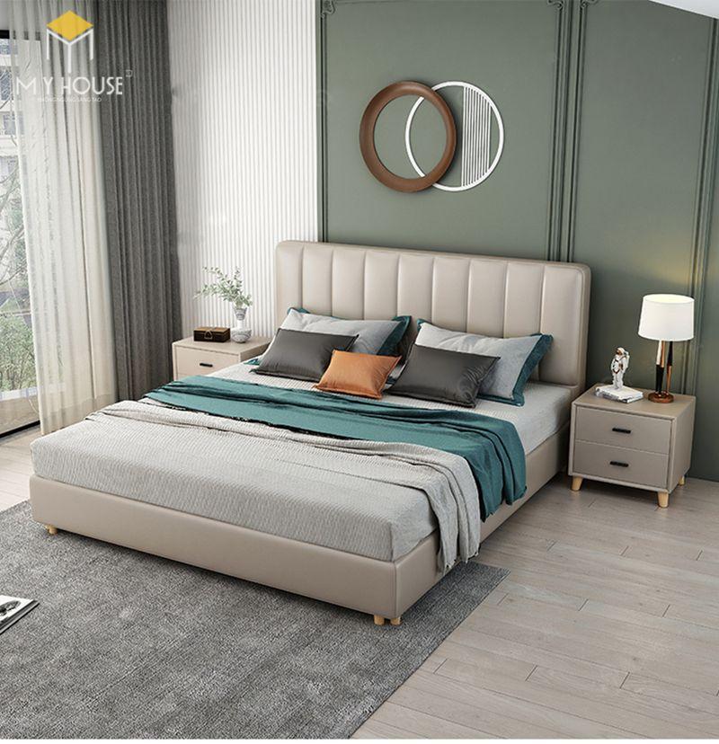 Mẫu giường ngủ2 đẹp cho nữ - Mẫu 22