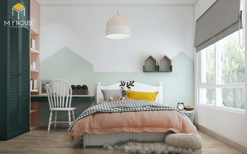 Mẫu giường ngủ đẹp cho nữ - Mẫu 03