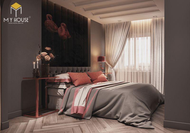 Mẫu giường ngủ đẹp cho nữ - Mẫu 08