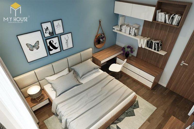 Kê giường ngủ đúng cách - Không kê giường dưới xà ngang