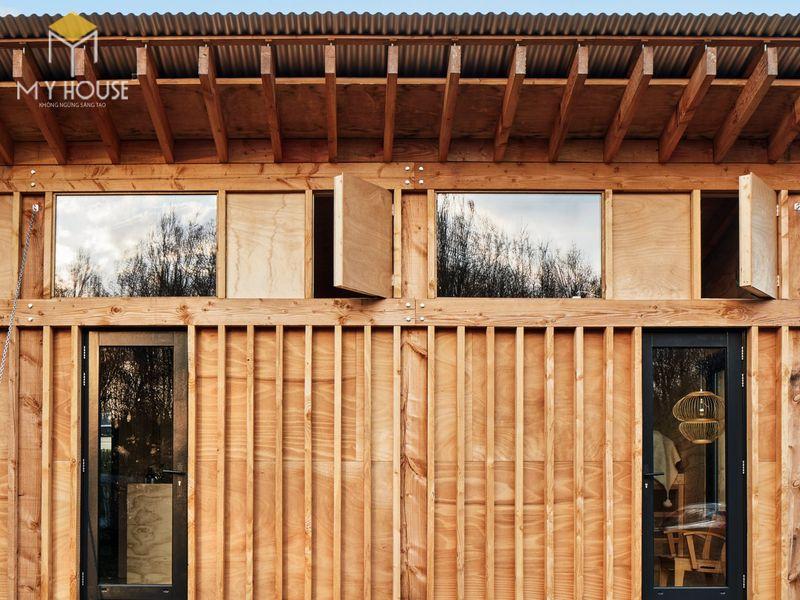 Mẫu thiết kế nội thất bên trong nhà gỗ 04
