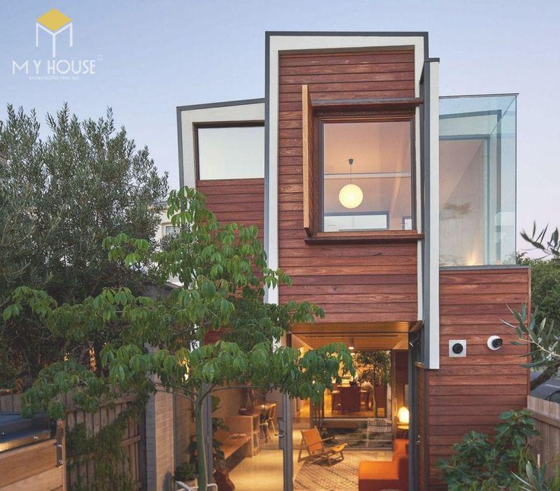 Thiết kế mẫu nhà gỗ nhỏ đẹp không gian mở