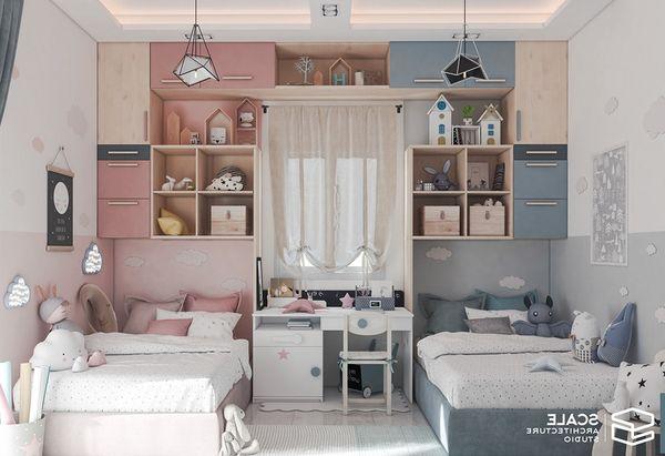 Lưu ý khi thiết kế phòng ngủ chung - tạo khoảng cách riêng tư trong phòng ngủ - Mẫu 19