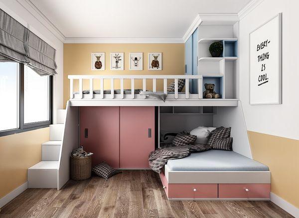 Phòng ngủ chung cho bé trai và bé gái - Mẫu 10