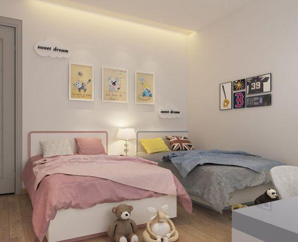 Xu hướng thiết kế phòng ngủ chung cho bé trai và bé gái - Mẫu 14