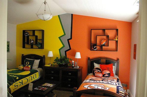 Lưu ý khi thiết kế phòng ngủ chung - màu sắc phòng ngủ - Mẫu 17