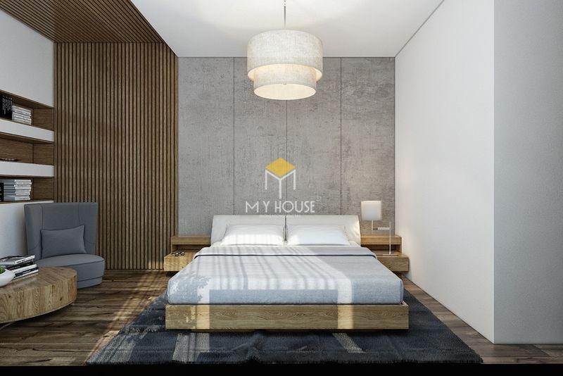 Phòng ngủ đẹp cho nữ màu xanh - mẫu 05