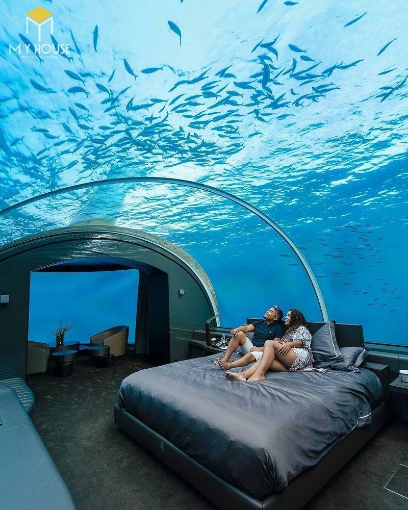 Phòng ngủ khách sạn đại dương - Mẫu 8