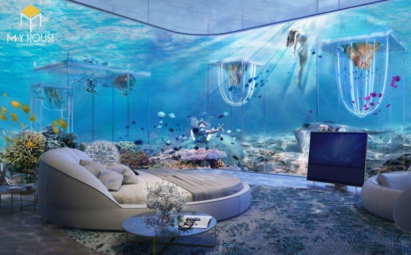 Phòng ngủ đại dương - Mẫu 7