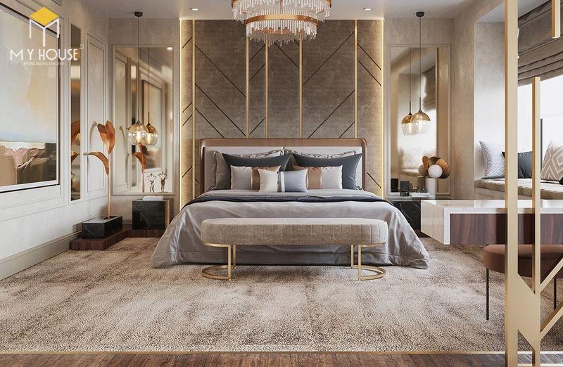 Phòng ngủ phong cách hiện đại - Mẫu 2