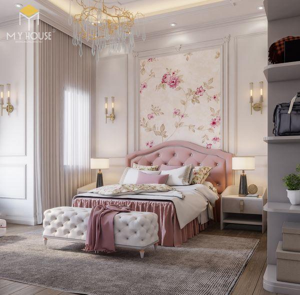 Xu hướng thiết kế phòng ngủ tân cổ điển 15