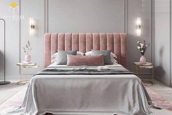 Phòng ngủ tân cổ điển màu hồng 03